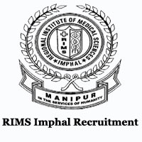 RIMS Imphal Recruitment