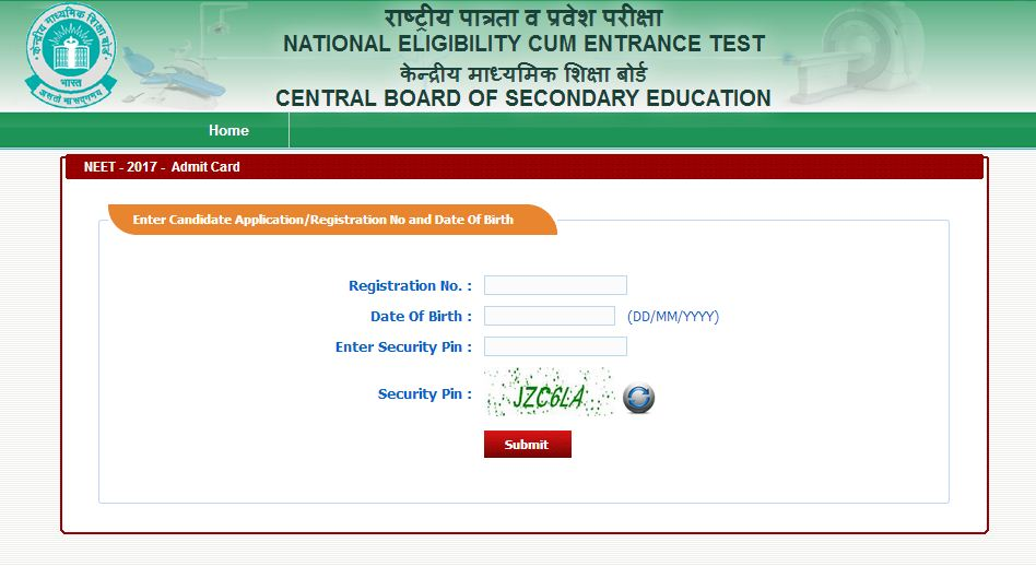 neet-admit card