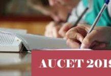 AUCET 2019 - Notification,