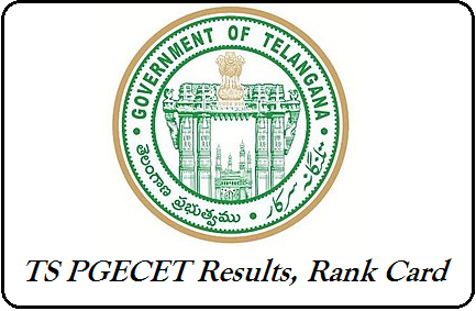 TS PGECET Results 2019 – Download Manabadi PGECET Rank Card