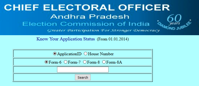 AP CEO Voter ID Application Status
