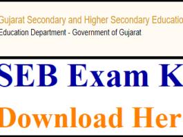 Gujarat TAT Answer Key 2018