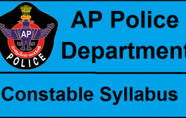 AP Constable Syllabus 2018
