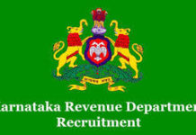 Karnataka Revenue Department VA Recruitment 2018