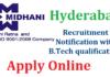 MIDHANI Hyderabad Recruitment 2018