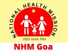 NHM Goa Recruitment 2018