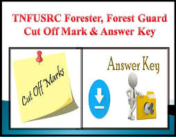 TN Forest Guard Answer Key 2018