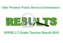 UPPSC LT Grade Teacher Result 2018