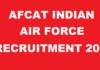 AFCAT 2018 Apply Online ForNCC Special Entry Jobs