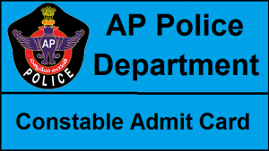 AP Police Constable Hall Tickets Release Dates Announced
