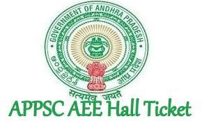 APPSC AEE Hall Ticket 2019