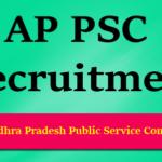 APPSC panchayat secretary
