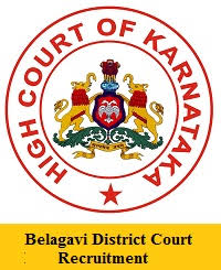 Belagavi District Court Recruitment 2019