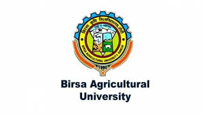 Birsa Agricultural University Recruitment