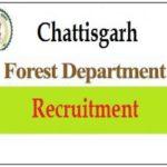 CG Forest Recruitment 2018