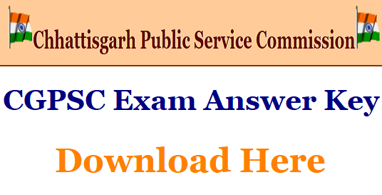 CGPSC Mining Inspector answer key 2018