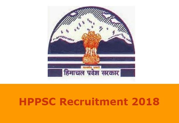 HPPSC Recruitment 2018