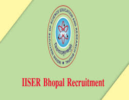 IISER Bhopal Recruitment 2018