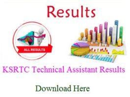 KSRTC Result 2018 (Revised)