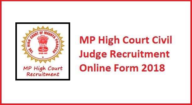 MP High Court Civil Judge Recruitment