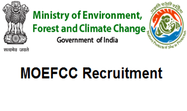 MoEF Recruitment 2018
