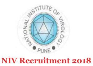 NIV Recruitment 2018