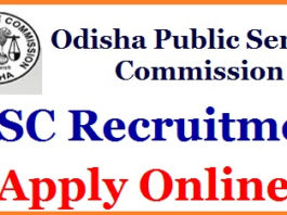 OPSC Homeopathic MO Jobs 2018