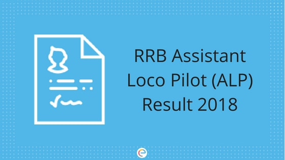 RRB ALP Revised Result 2018 Released