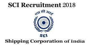 SCI Trainee Electrical Officer Recruitment 2018