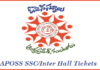 APOSS Hall Tickets