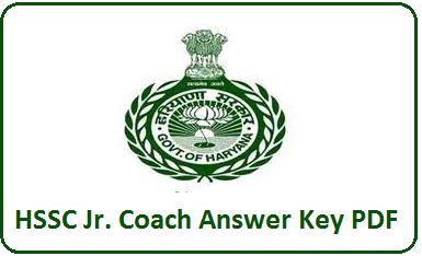HSSC Junior Coach Answer Key