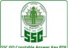 SSC GD Constable Answer key