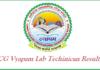 CG Vyapam Lab Technician Result